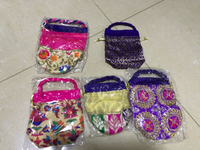 5 pieces of gift/ Jewellery pouches
