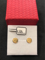 Earrings with 1.13 grams