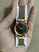 New ladies magnetic strap watch