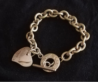 Used Authentic Tiffany & Co locket bracelet  in Dubai, UAE
