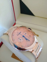 Mens watch rose gold color