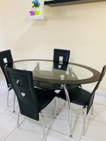 Used 4 seater dining table from 'home Centre' in Dubai, UAE