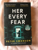 Used Her Every Fear by Peter Swanson in Dubai, UAE