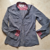 Mango checkered shirt