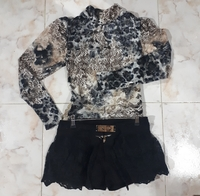 Used Unique highneck Top with Short for lady in Dubai, UAE