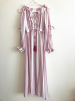 Used Red and white long dress in Dubai, UAE