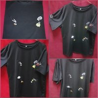 Used Black  T-shirt in Dubai, UAE