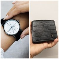 Used Bundle Offer● TOMI Original Watch+Wallet in Dubai, UAE