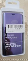 Used Brand new Samsung S9 flip cover purple in Dubai, UAE