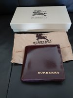 Used Burberry Mens leather wallet in Burgandy in Dubai, UAE