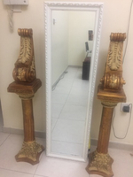 Used Crafted decoration stand with mirror 3 p in Dubai, UAE