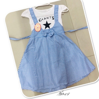 Used Blue Dress 4/5 Yr old 💙 in Dubai, UAE