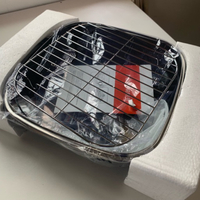 Used Electric cooker non-stick with lid NEW in Dubai, UAE