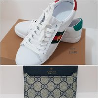 Used Bundle offer - Gucci shoes, card wallet in Dubai, UAE