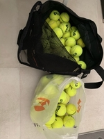 Used Pressureless tennis balls in Dubai, UAE
