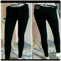 Used Bershka black long pants skinny in Dubai, UAE