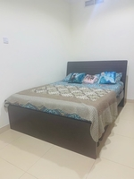 Used Bed with mattress- hardly used. 8 months in Dubai, UAE