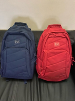 Used Billabong back pack - navy blue and red in Dubai, UAE