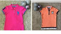 Bundle Offer Us polo Cotton T-shirts Medium Both Used In Good condition
