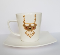 Used Hand made design on cup in Dubai, UAE