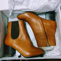 Used Also Frialia Leather Boots Brand New in Dubai, UAE