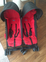 Used Chicco stroller- red color in Dubai, UAE