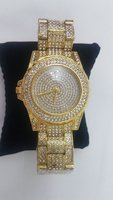 Used Lupai Fashion Watch Stainless Steel Gold in Dubai, UAE
