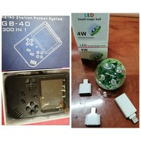 Used Retro game consoles + USB magic light in Dubai, UAE