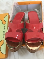 Used Paprika wedge sandal  in Dubai, UAE