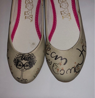 Used Girls ballerina shoes size 35 in Dubai, UAE