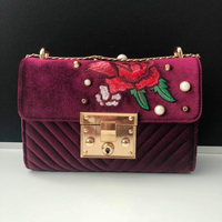 Used Velvet Crossbody Bag in Dubai, UAE