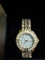 Used Bs Bee Sister Silver/Gold diamond watch in Dubai, UAE