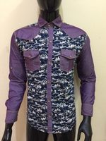 Used Snow pattern shirt for Men - Size Medium in Dubai, UAE
