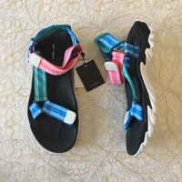 Used new ZARA track sole sandals (size 39) in Dubai, UAE