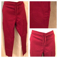 Used Red stretch pants size 2XL  in Dubai, UAE