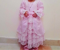 Used Pink and White Dress in Dubai, UAE