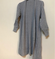 Used Gray wool cardigan /free size  in Dubai, UAE