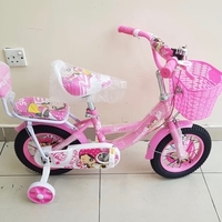 "Used Girls Bike with passenger (wheels 12"") in Dubai, UAE"