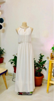 Used White Maxi Dress  in Dubai, UAE