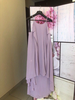 Lavender Pink Fine evening Dress