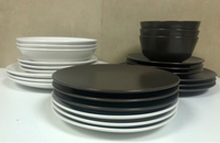 Used Dining sets 6 complete + 6 extra plates  in Dubai, UAE