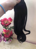 Used NEW Hair Topper Hairpiece BLACK in Dubai, UAE