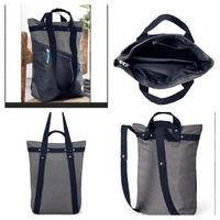 Used 2 in 1 shoulder Back grey/black in Dubai, UAE