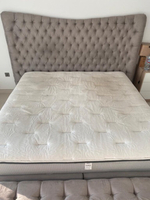 Used Super king bed with ottoman  in Dubai, UAE
