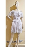 Used offshoulder white  dress:small size in Dubai, UAE