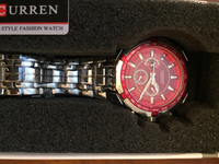 Used Curren - Men's Stainless steel Watch in Dubai, UAE