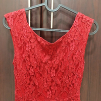 Used Forever 21 Lace Dress (Red) in Dubai, UAE