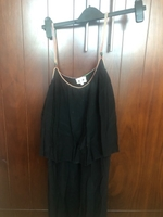 Used Colored strapped black dress in Dubai, UAE