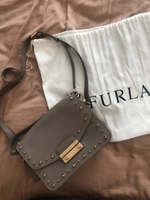 Used Furla medium satchel in Dubai, UAE