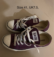 Used Purple converse  in Dubai, UAE